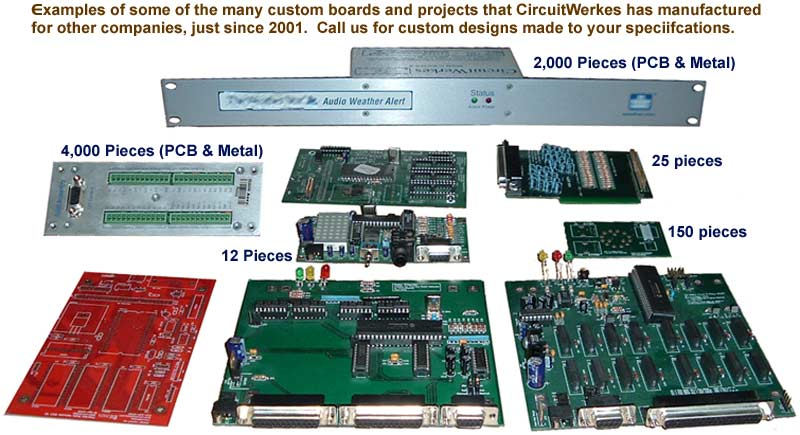 CircuitWerkes Custom Products - Call for a quote